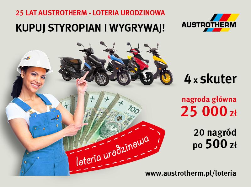 25 lat Austrotherm - Loteria Urodzinowa